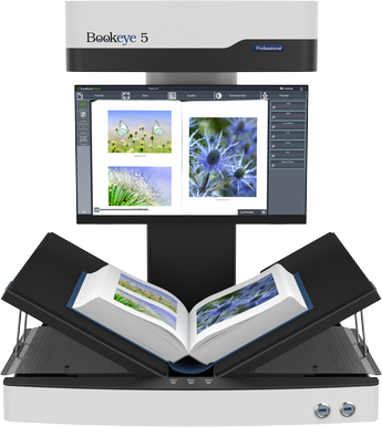Bookeye 5 V2 Overhead Book Scanner