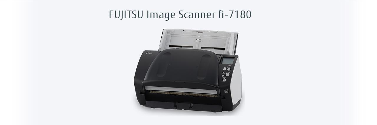 Fujitsu Fi-7180 scanner