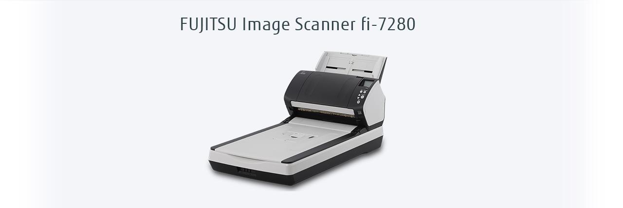Fujitsu Fi-7280 scanner